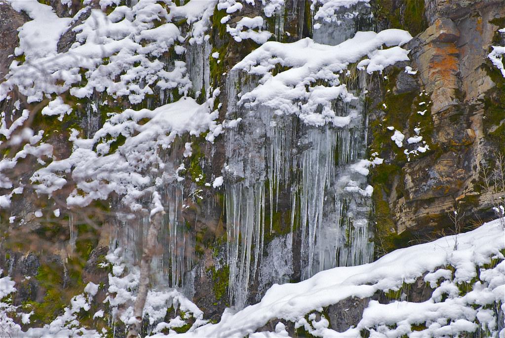 Buffalo Bill Creek ice