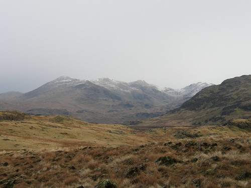Scafells from White How
