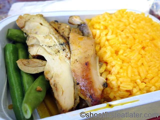 Philippine Airlines economy meals - chicken inasal-001