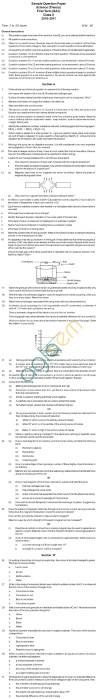 CBSE Board Exam 2013 Sample Papers (SA1) Class IX - Science