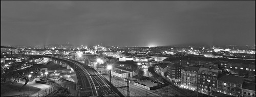 Prag / Nachtpanorama / Nightscape