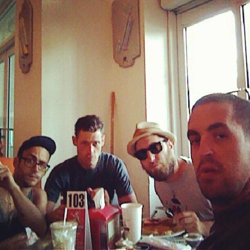 Sunday Breakfast with the @enmasse @robotkin @fredifredfred @omen514