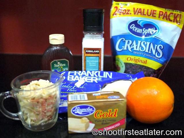 cranberry coconut almond granola-001