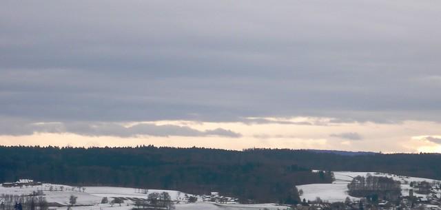 View towards Bucheggberg from Langendorf