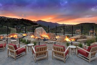 The St. Regis Deer Valley—Mountain Terrace / Garden of Fire