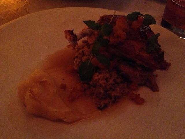 Guinea hen - AQ Restaurant
