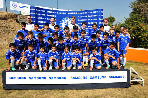 Samsung Clinica de Futbol con el Chelsea FC