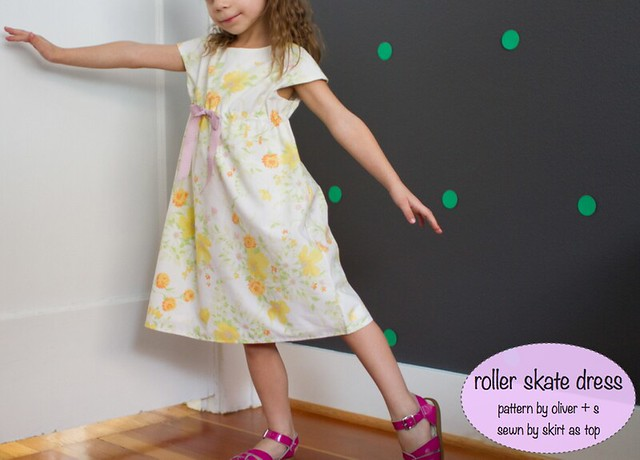 floral roller skate dress