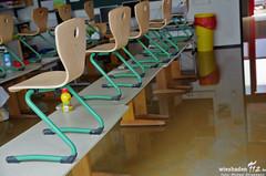 Wasserschaden Grundschule Schelmengraben 11.03.13