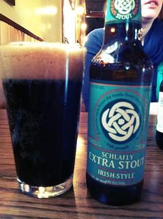 Schafly Irish stout