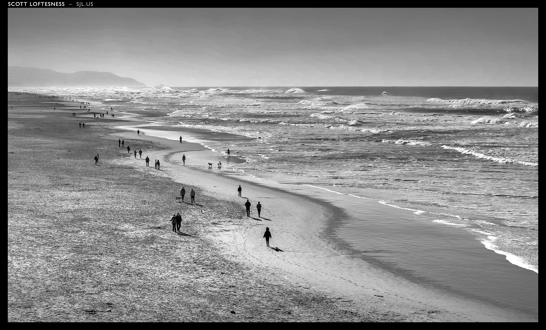Ocean Beach - San Francisco - 2013 by Scott Loftesness