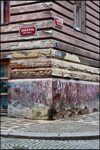 Prag / Straßenecke / street corner