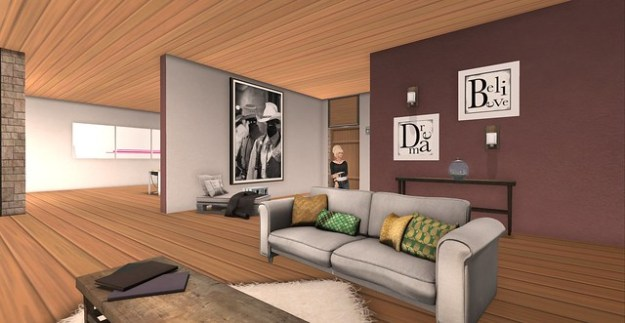 Linden Home Makeover_Living Room View 2