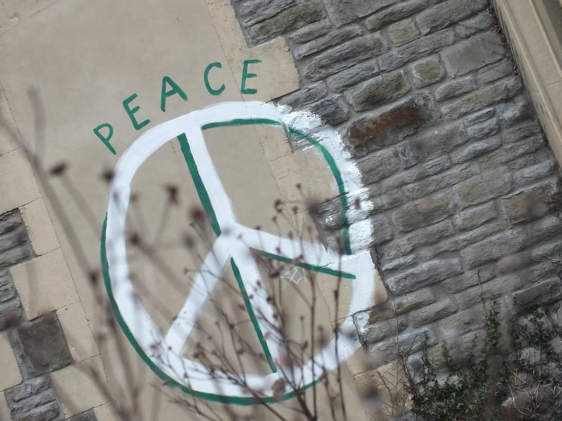 Peace Graffiti in Canton