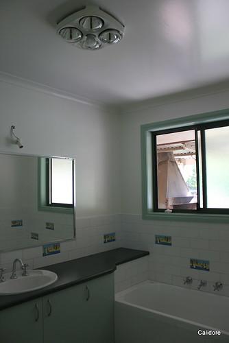 Bright and White Bathroom