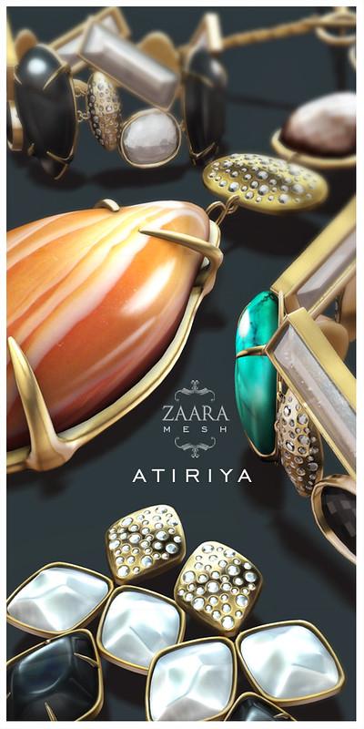 Zaara : Atiriya Mesh Jewelry 2