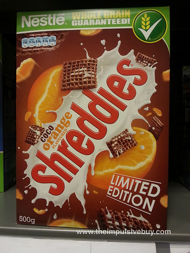 Nestle Limited Edition Coco Orange Shreddies
