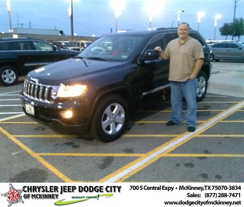 Congratulations to Patrick Emerson on the 2013 Jeep Grand Cherokee! by Dodge City McKinney Texas