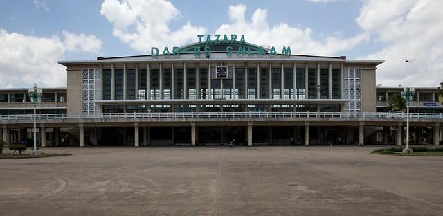 Tazara Railway Station in Dar es Salaam