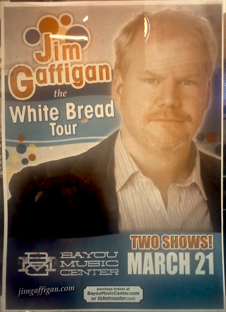 Jim Gaffigan Show in Houston, 21 March 2013