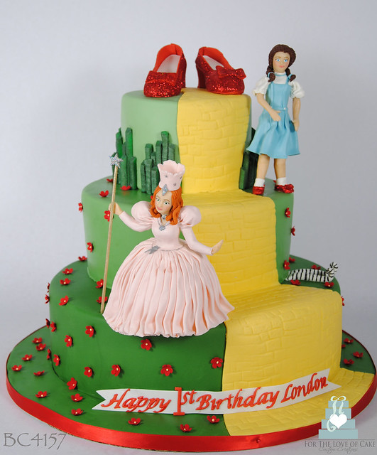Cake Wizard Oz Birthday Easy