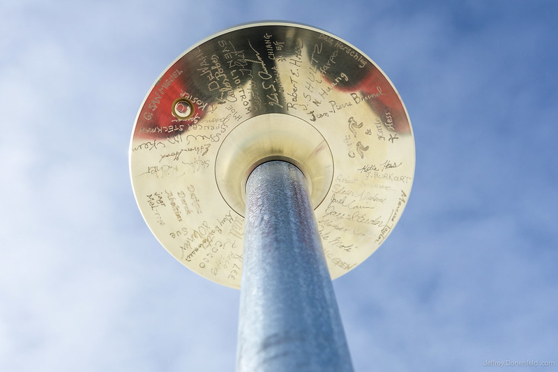 2013 South Pole Marker underside