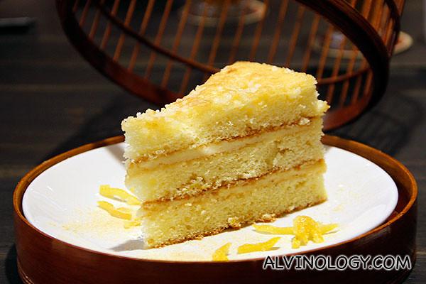 Japanese Yuzu Cake