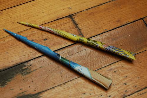 paper darts