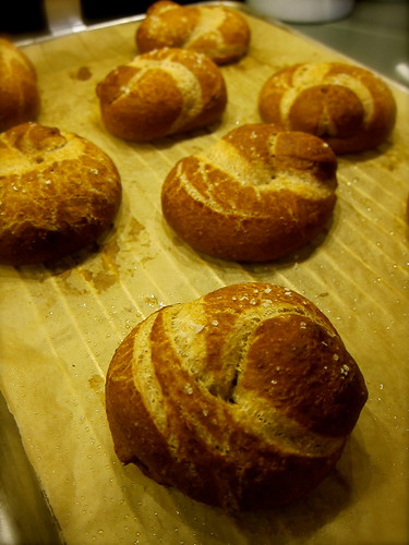 Buttermilk Pretzel Knots
