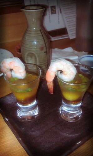 Issian shrimp shooter