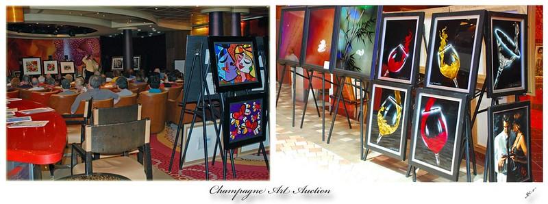 Champagne Art Auction