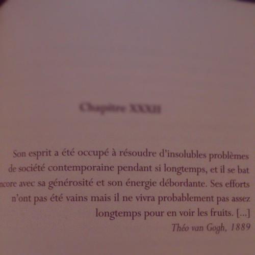 Théorie van Gogh #borntorun #words #quotes