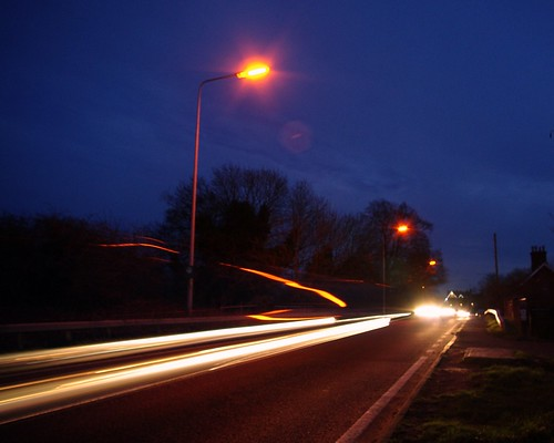 20130113-43_Head Light Light Trails Braunston by gary.hadden