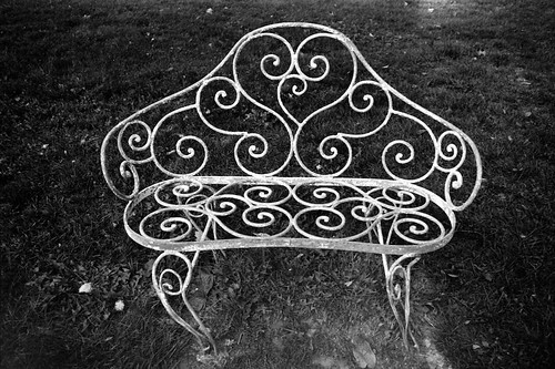 Bench in Cemetery