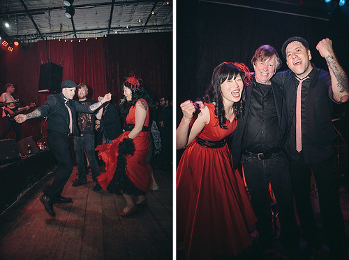 dancing to Roy Loney & the Phantom Movers