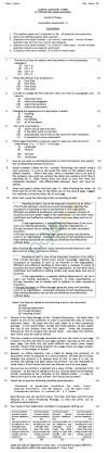CBSE Class IX Sample Papers (Second Term) e-Typewriting