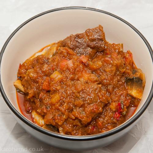 Panjaban Veal Curry