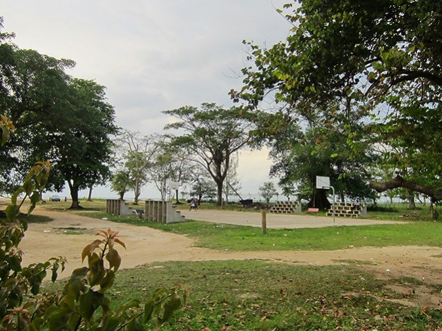 Negril basketball court