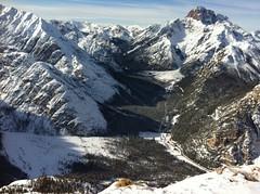 Monte Piano, Blick ins Tal