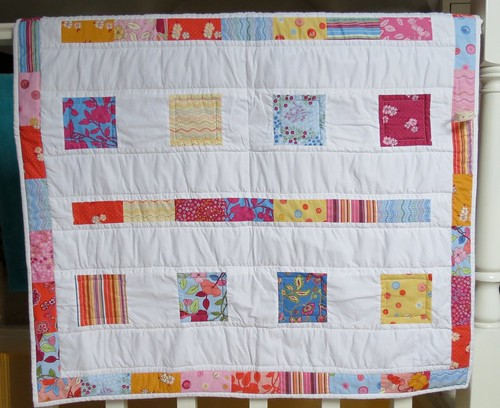 Charm pack quilt by Samantha Halliwell