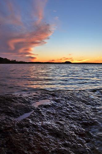 Devil's Fork Sunset by Jeka World Photography