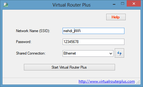 Virtual Router Plus: Turns Your PC Into a Wi-Fi Hotspot | Royal