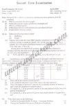 GGSIPU Question Papers Fourth Semester – Second Term 2010 – ETCS-212