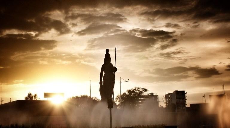 Minerva protectora y guerrera tapatía