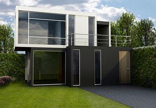 Promueven construcci n casas contenedores en santo - Casas contenedores precio ...