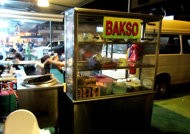 Bandong bakso stall