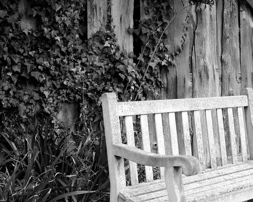 20130303-10_Baddesley Clinton - Ramshackled Shed + Garden Bench by gary.hadden