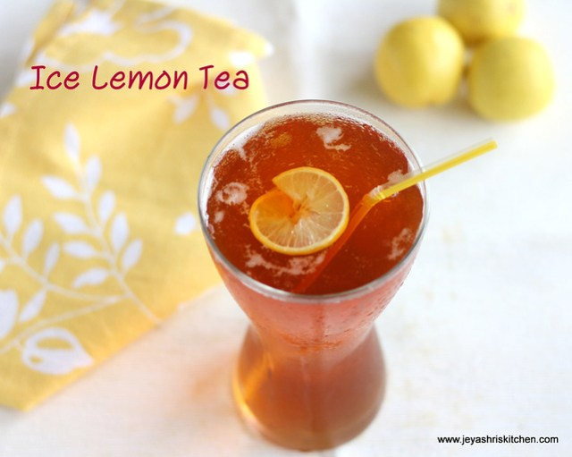 ice lemon tea 2