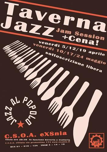 Taverna Jazz c.s.o.a. exsnia by cristiana.piraino