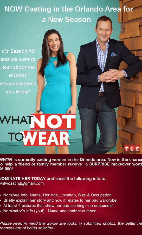 TLC's 'What Not To Wear' Casting in Orlando